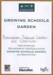 Growing Schools Garden Award
