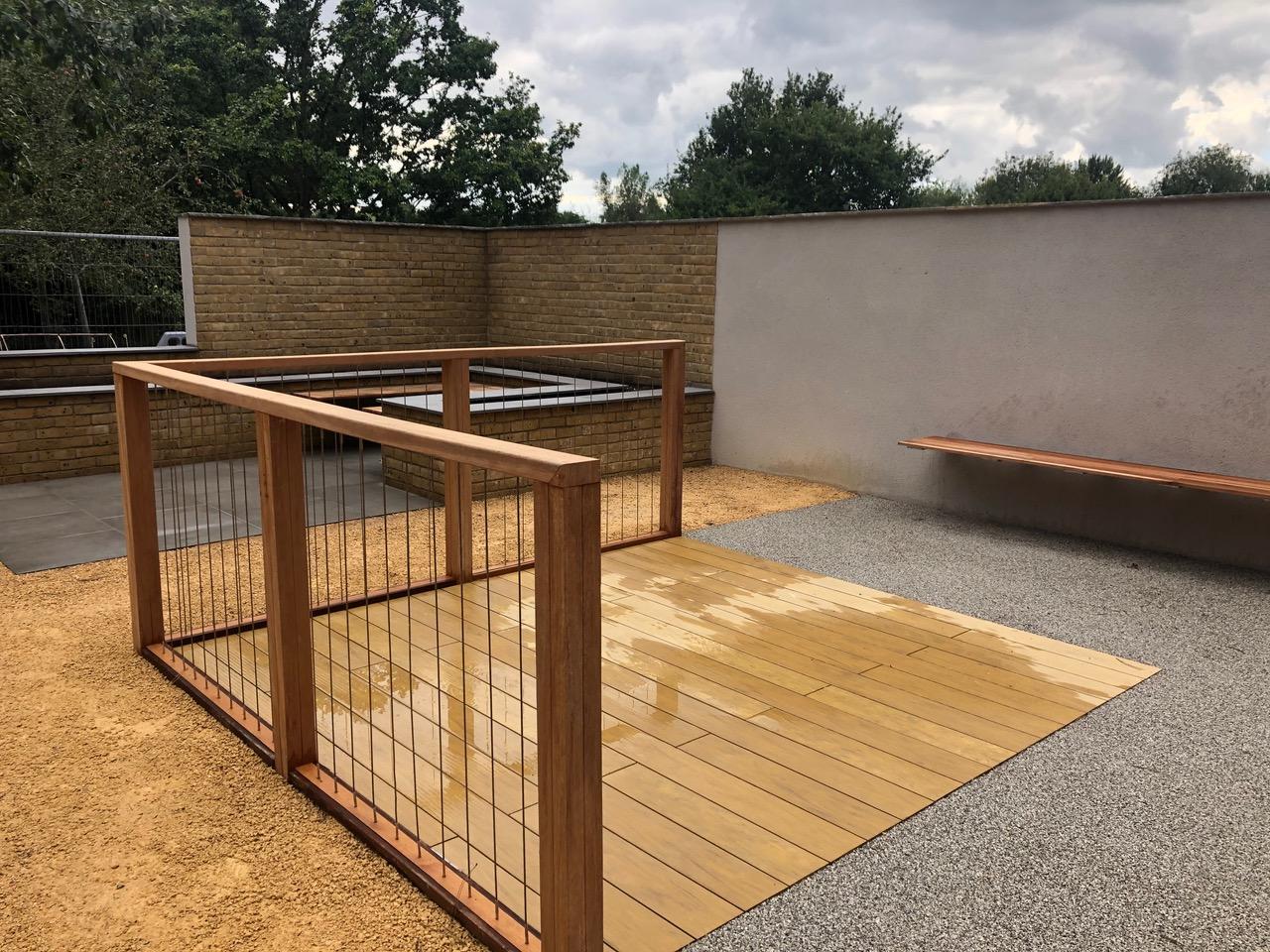 Urban Garden build is completed